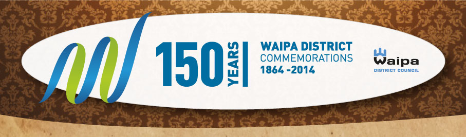 Waipa District Commemorations Logo